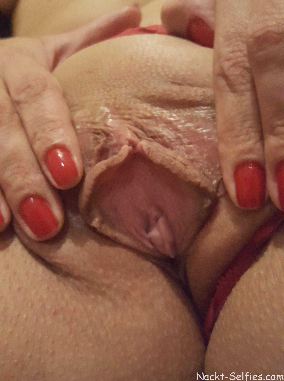 privates Nacktbild Frau Kristin 07