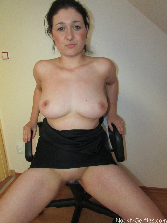 Vollbusige Amateurin Janine Foto 01