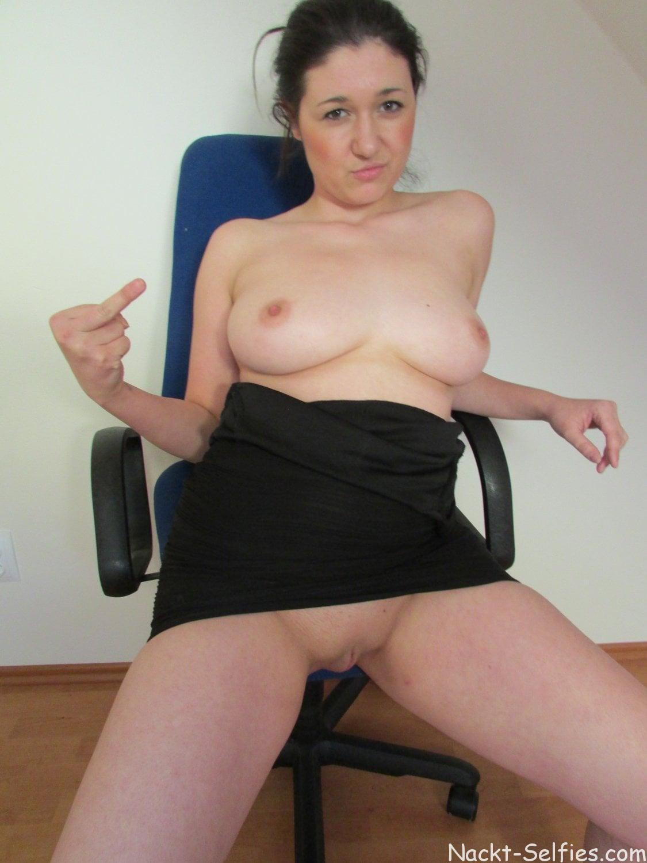 Vollbusige Amateurin Janine Foto 02